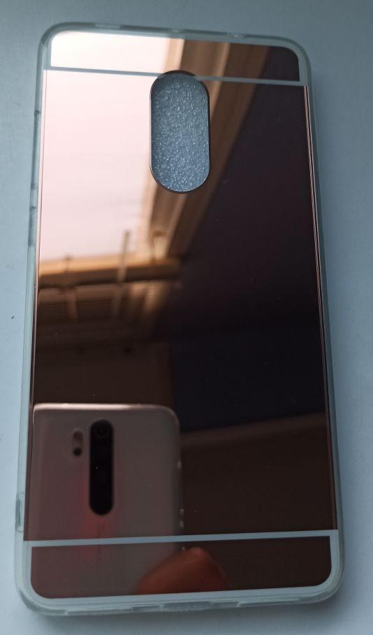 Funda espejo rosa