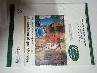 Libro de ciencias sociales Esc. Adultos