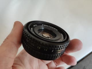 Objetivo Pentacon Prakticar 50mm F2.4