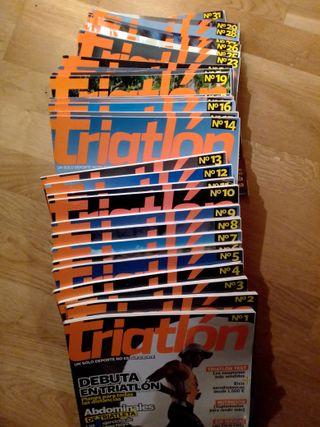 31 primeros números revista Triatlon