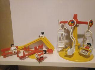 Lote 8 . Parque de atracciones Playmobil