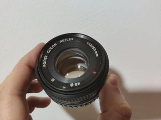 Objerivo Porst Color 50mm F1.9 Montura Fujinon-X