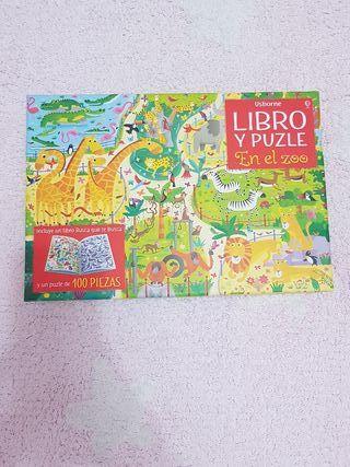 libro puzzle nuevo sin abrir