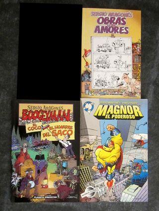 Lote de 3 cómics de Sergio Aragonés