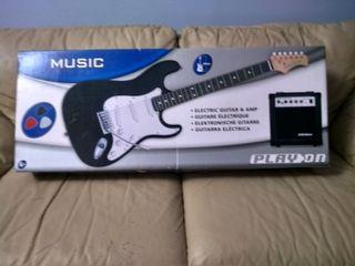 Guitarra eléctrica.