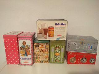latas colección cola cao