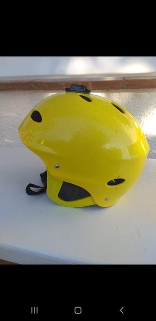 casco kitesurf amarillo xl