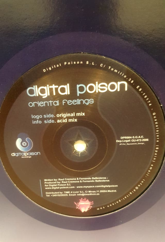 digital Poison ORIENTAL FEELINGS DISCO VINILO