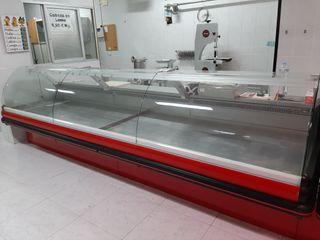 mostrador vitrina abatible carnicería