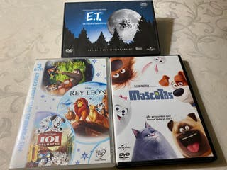 Lotes de Dvd para estas Navidades. Sin uso.