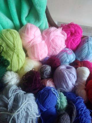 38 joblot bundle wool