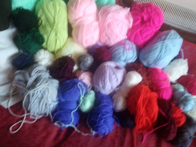 38 joblot bundle wool