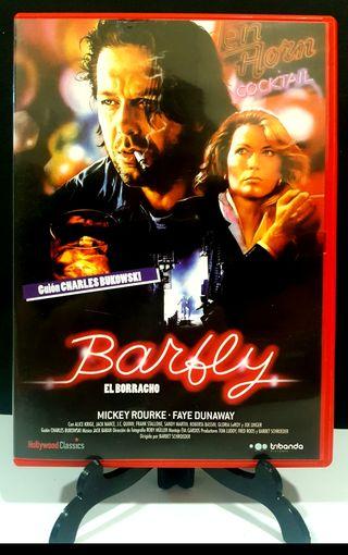 BARFLY El Borracho dvd MICKEY ROURKE