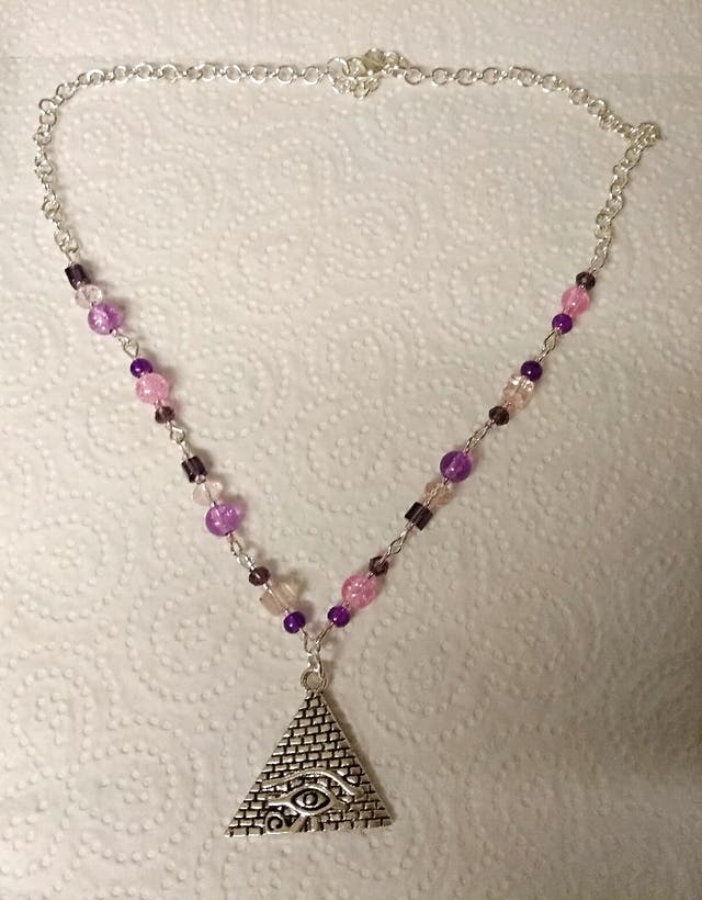 Hand crafted necklace