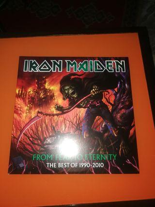 triple vinilo iron maiden PICTURE DISC.