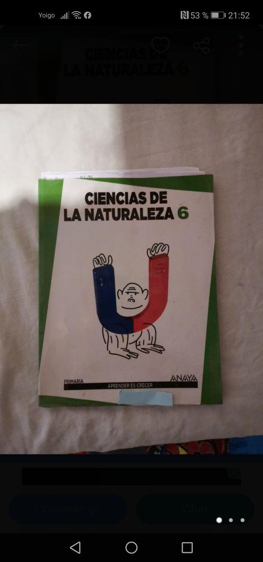 Libro ciencias de la naturaleza 6 de primaria