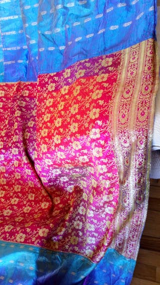 Banua colcha seda Índia cama matrimonio