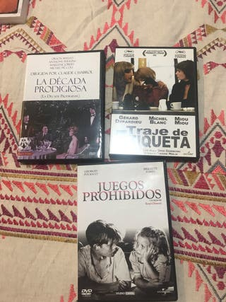Películas francesas Dvds