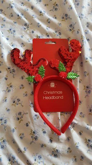 Christmas sequin headband
