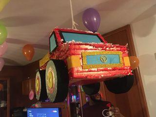 Piñata coche