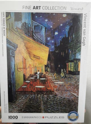 Puzzle cuadro Van Gogh con precinto original