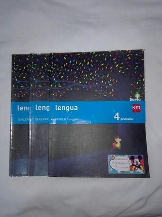 libros de cuarto de primaria lengua