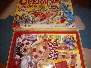 juego mesa operando