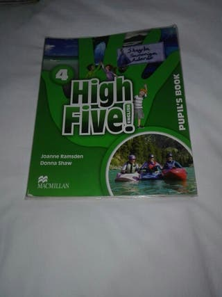 Libro de inglés high five!