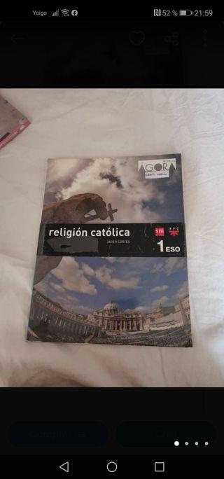 Libro religión católica 1 ESO