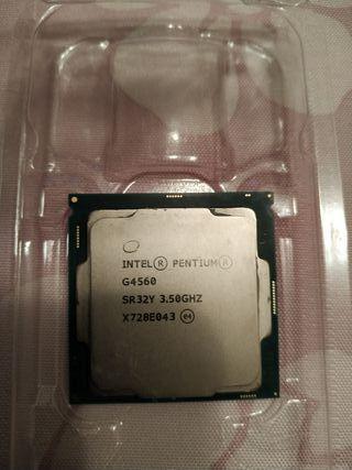 Procesador -> Intel Pentium G4560