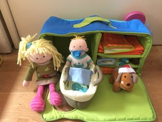 Casa maletín Amanda, bebé y mascota. Imaginarium