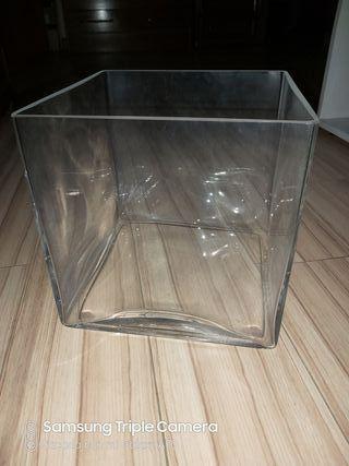 Jarrón cristal CASA