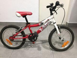 Bicicleta CONOR 16 pulgadas.
