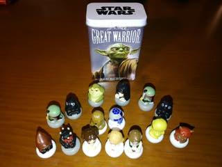15 figuras Star Wars