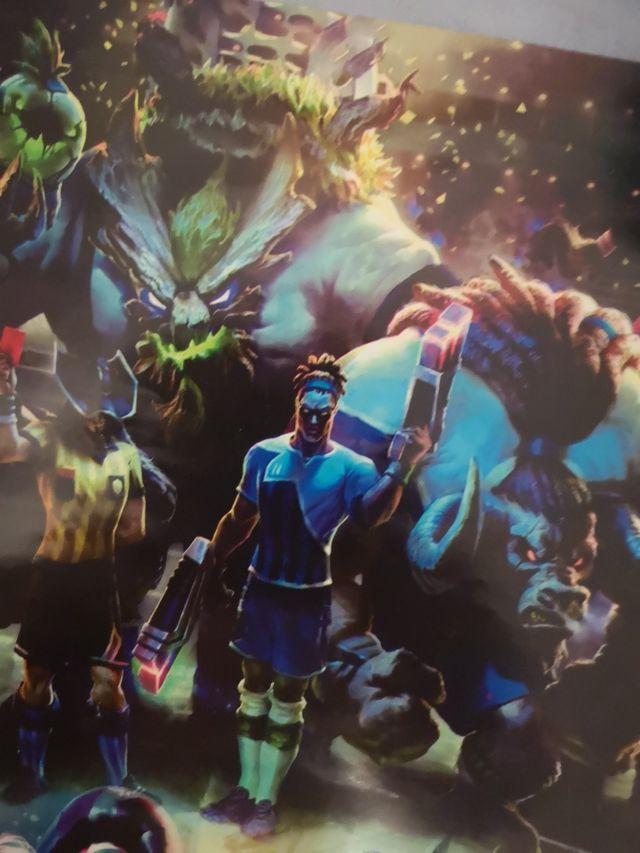 Póster League of Legends