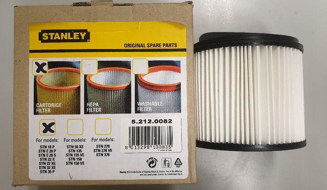 Filtro aspiradora cartucho Stanley Nuevo