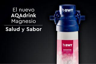 Bebe agua natural del grifo con Aqadrink