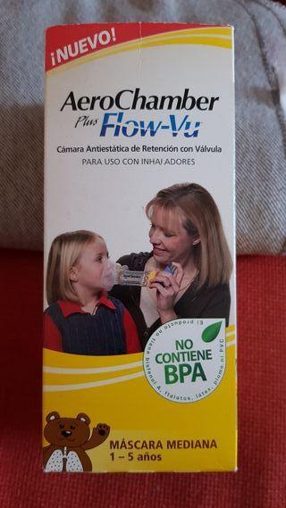 Mascara mediana para uso con inhaladores