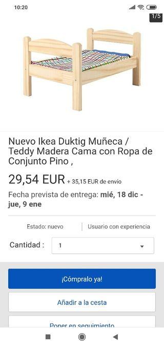 Cama Juguete de Ikea