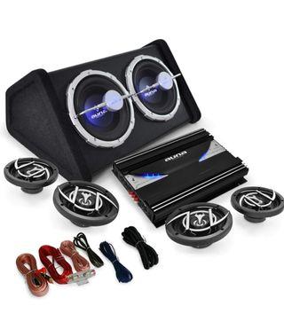Equipos sonido Auna coche Black Line 4.1 500w
