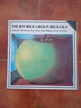 VINILO JEFF BECK - BECK-OLA (LP) 1986 ROD STEWART.