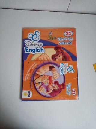 Libro actividades Disney CD y Dvd sin abrir inglés