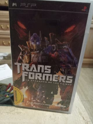 JUEGO PSP TRANSFORMERS