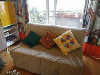 Sofá cama futon dos plazas