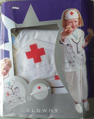 Disfraz médico médica enfermero enfermera