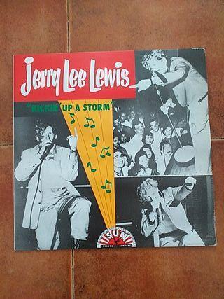 VINILO JERRY LEE LEWIS - KICKIN´UP A STORM (LP) 19