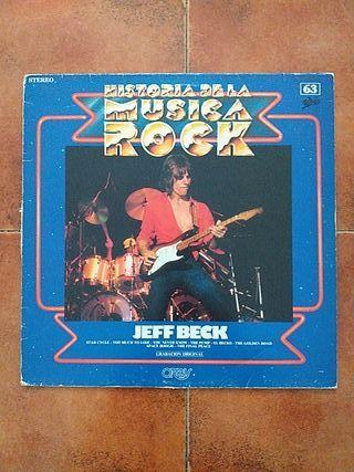 VINILO JEFF BECK - HISTORIA DE LA MUSICA ROCK NUM