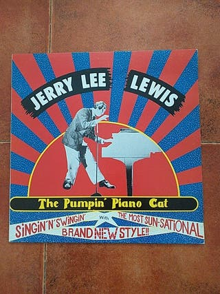 VINILO JERRY LEE LEWIS - THE PUMPIN´ PIANO CAT (LP