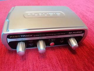 Tarjeta sonido M-Audio Fast Track