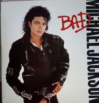 Vinilo Lp BAD Michael Jackson